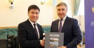 Министр образования и науки Кыргызстана Алмазбек Бейшеналиев встретился с министром науки и высшего образования РФ Валерием Фальковым.