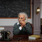 Фигура немецкого физика Альберта Эйнштейна