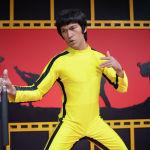 Восковая фигура актера и мастера боевых искусств Брюса Ли