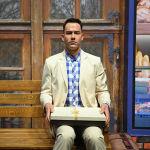 Фигура американского актера Тома Хэнкса в роли Фореста Гампа