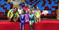 Участники международного фестиваля детского циркового искусства Шелковый путь в Ташкенте