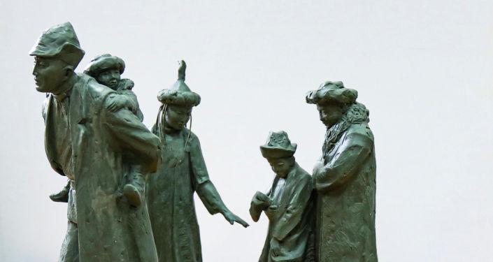 Образцы креативных скульптур в Бишкеке