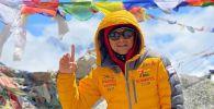Кыргызстандык альпинист Эдуард Кубатов. Архив