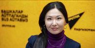 Генеральный директор, эксперт в области недвижимости Эсен Рыспеков на радио Sputnik Кыргызстан