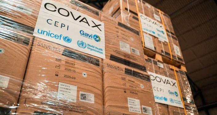 В Кыргызстан доставлены расходные материалы для вакцинации в рамках COVAX