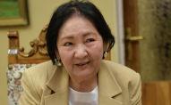 Мария Айтматова — вдова народного писателя Чингиза Айтматова