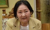 Супруга писателя Чингиза Айтматова Мария Айтматова