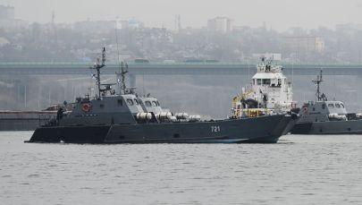 Кара деңиздеги РФтин Каспий флотилиясы