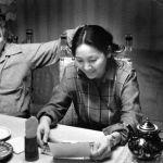Мария Айтматова улуу жазуучунун Кылым карытар бир күн романын өз колу менен терип чыккан
