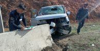 Последствия ДТП на перевале Чыйырчык в Алайском районе