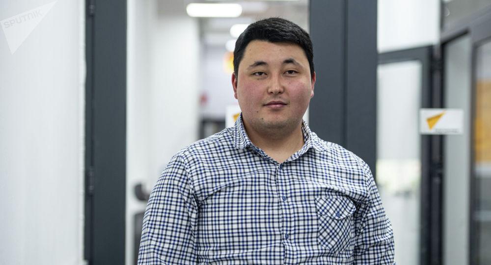 Руководитель компании-поставщика электромобилей Дастан Чаргынов