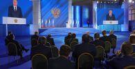 РФ лидери Владимир Путин Федералдык жыйынга кайрылуусунда
