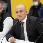 Президент Ассоциации детективов КР Русланбек Умаров во время круглого стола в мультимедийном пресс-центре Sputnik Кыргызстан