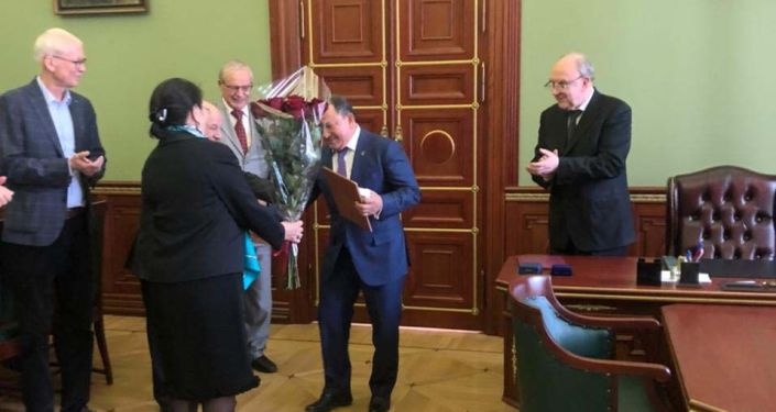 Руководитель Бишкекского научно-исследовательского центра травматологии и ортопедии Сабырбек Джумабеков стал членом Российской академии наук