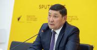 Министр сельского, водного хозяйства и развития регионов Аскарбек Джаныбеков