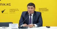 Айыл, суу чарба жана аймактарды өнүктүрүү министри Аскарбек Жаныбеков