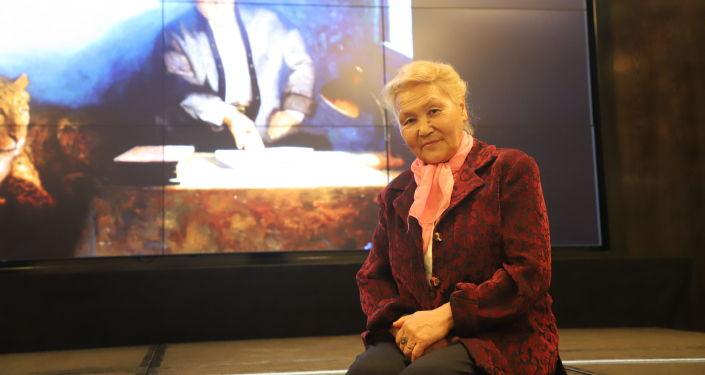 Презентация книги Сказительский дар Талантаалы Бакчиева в Бишкеке