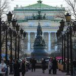 Екатерининский сад — один из исторических и самых известных скверов Санкт-Петербурга, центр которого украшает монумент Екатерины II. Сад является центральной частью площади Островского и расположен у Невского проспекта — одной из самых посещаемых и красивых улиц города.