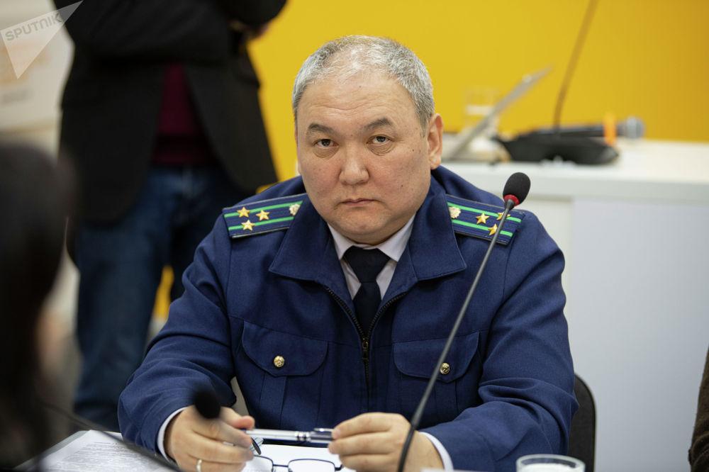 Начальник отдела по надзору за соблюдением прав предпринимателей и защиты инвесторов Генеральной прокуратуры Арсланбек Мурзаев