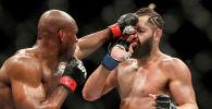 UFC чемпиону Камару Усман Хорхе Масвидалды уюмдун 261-номериндеги турниринин башкы беттешинде нокаутка кетирди.