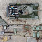 Т-34 танкы Кара деңиз флотунун базасындагы Новороссийск аскер бөлүгү тарабынан калыбына келтирилип, оңдолуп жатат. Ал көп жыл бою эстелик катары турган. Реставрациядан соң аны Жеңиш парадына алып чыгышат