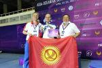 Кыргызстандык фехтование боюнча спортчу Роман Петров (ортодо)
