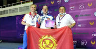 Член сборной Кыргызстана по фехтованию Роман Петров занял первое место в квалификационном азиатско-тихоокенском турнире в Ташкенте (Узбекистан)