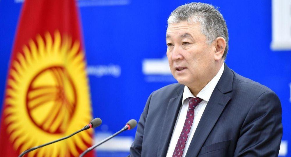 Бывший заместитель министра здравоохранения Нурболот Усенбаев. Архивное фото