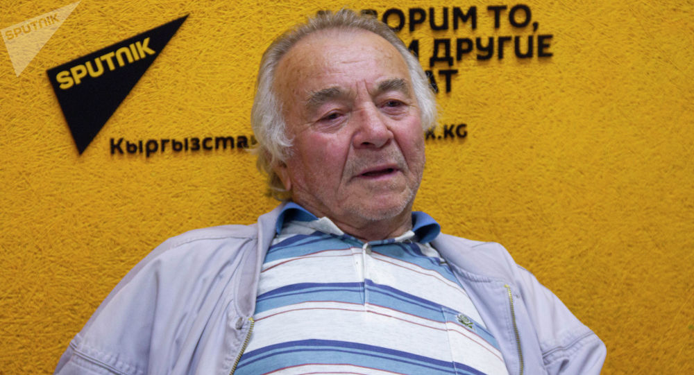 Народный артист КР Анатолий Адали на радио Sputnik Кыргызстан
