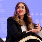 Американская актриса Джессика Альба на мероприятии Правило женщин: саммит Лос-Анджелеса в NeueHouse Hollywood в Лос-Анджелесе, Калифорния. 5 июня 2018 года