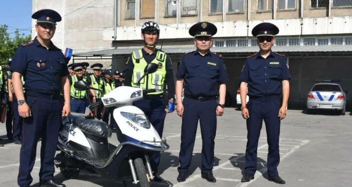 В целях обеспечения общественной безопасности и безопасности дорожного движения в Бишкеке будут работать мотопатрули