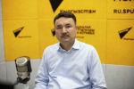 Первый заместитель генерального директора ОАО Электрические станции Алмаз Кушубаков на радио Sputnik Кыргызстан