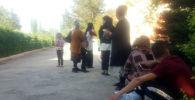 Баткенде чек арадагы айылдардан көчүрүлгөн кишилер
