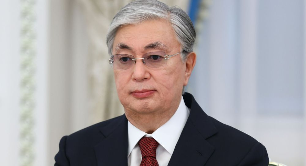 Казакстандын президенти Касым-Жомарт Токаев. Архив