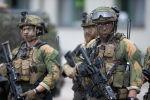 НАТО батальонун норвегиянын жоокерлери. Архив