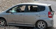 Чек арадагы кыргыз номерлүү талкаланган автоунаалар