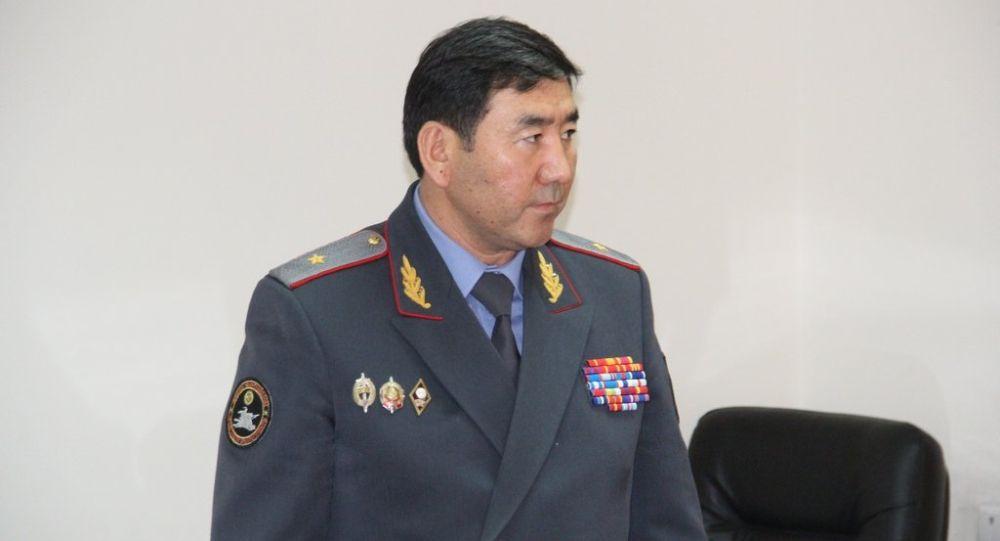 Заместитель министра внутренних дел КР Суйун Омурзаков. Архивное фото