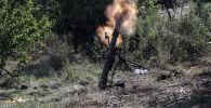 Минометный обстрел. Архивное фото