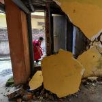 Последствия землетрясения в Индии. 28 апреля 2021 года