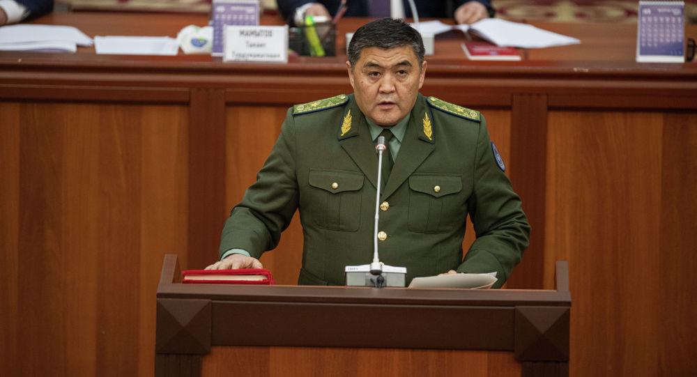 Председатель Государственного комитета национальной безопасности Камчыбек Ташиев. Архивное фото