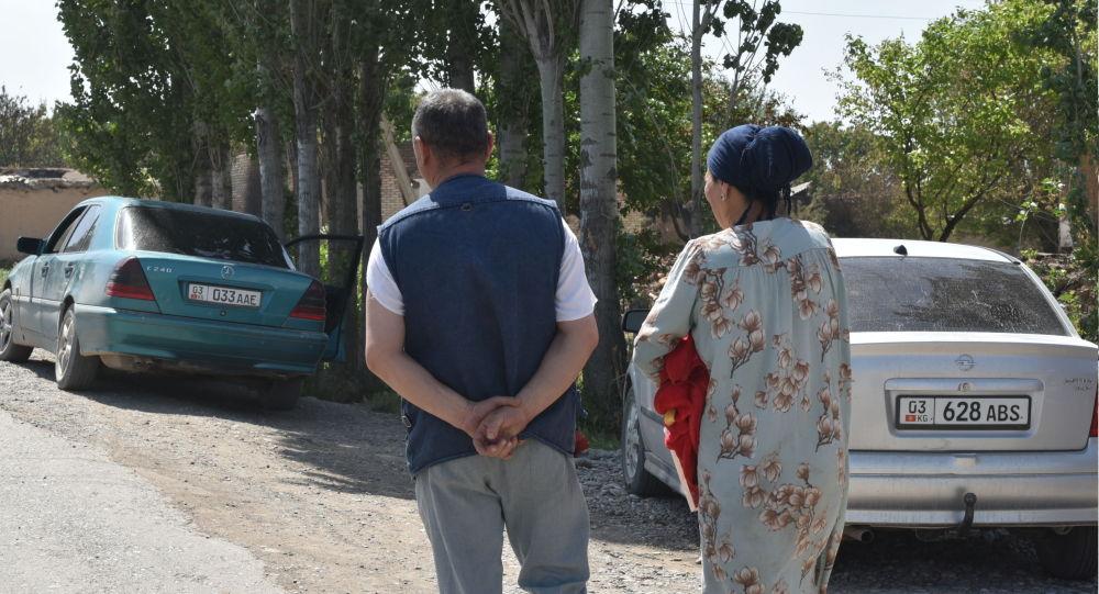 Жители села Максат после конфликта с Таджикистаном