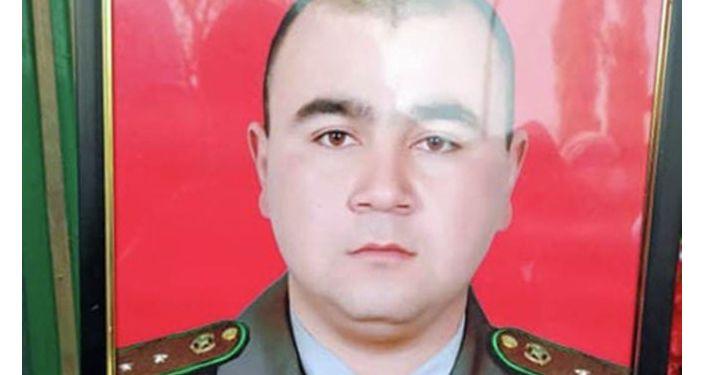 Погибший 29-летний прапорщик Бекзат Юлдашев в ходе конфликта с Таджикистаном
