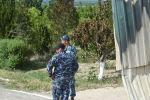 Военные Кыргызской Республики после конфликта с Таджикистаном в приграничном селе Максат