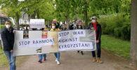 Кыргызстанцы, живущие в Берлине, Гамбурге, Франкфурте-на-Майне и Мюнхене, провели мирный митинг возле представительств Таджикистана и на площадях в этих городах.