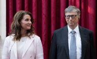 Основатель Microsoft Билл Гейтс и его жена Мелинда. Архивное фото