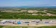Лейлекский район после после приграничного военного конфликта между Кыргызстаном и Таджикистаном. Архивное фото