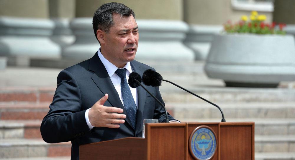 Президент Садыр Жапаров