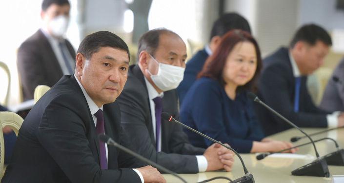 Первое рабочее совещание с участием новых членов Кабинета министров. 06 мая 2021 года