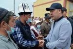 Президент Садыр Жапаров Баткен облусунда иш сапары менен