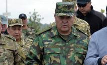 Председатель правительственной комиссии по вопросам границ, глава ГКНБ Камчыбек Ташиев